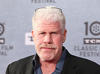 """Los Angeles CA Apr 11: Ron Perlman, arrive to 2019 TCM Classic Film Festival Opening Night Gala And 30th Anniversary Screening Of """"When Harry Met Sally"""", TCL Chinese Theatre, Los Angeles, USA on April 11, 2019 <br /> CAP/MPI/FS<br /> ©FS/MPI/Capital Pictures"""
