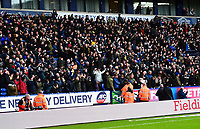Preston North End fans look on<br /> <br /> Photographer Richard Martin-Roberts/CameraSport<br /> <br /> The EFL Sky Bet Championship - Bolton Wanderers v Preston North End - Saturday 9th February 2019 - University of Bolton Stadium - Bolton<br /> <br /> World Copyright &copy; 2019 CameraSport. All rights reserved. 43 Linden Ave. Countesthorpe. Leicester. England. LE8 5PG - Tel: +44 (0) 116 277 4147 - admin@camerasport.com - www.camerasport.com