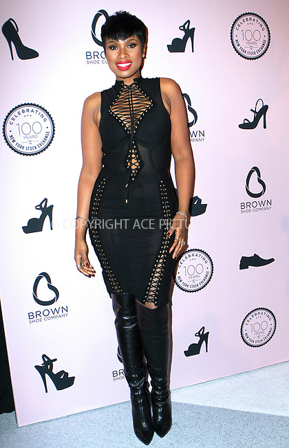 WWW.ACEPIXS.COM<br /> <br /> April 23, 2014 New York City<br /> <br /> Jennifer Hudson arriving at the Brown Shoe Company celebration of 100 Years on the New York Stock Exchange at 4 World Trade Center in New York City on April 23, 2014.<br /> <br /> By Line: Nancy Rivera/ACE Pictures<br /> <br /> <br /> ACE Pictures, Inc.<br /> tel: 646 769 0430<br /> Email: info@acepixs.com<br /> www.acepixs.com
