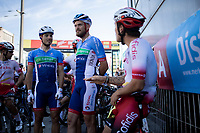 The riders had neutralized the race after one lap. They claimed the parcours was not safe and discussed with the organization to become some changes on the course.  Deciscion became: a part of the course was left out and some adjustments were made. Result: 8 laps of 16km - total 128km. <br /> <br /> 94th Schaal Sels 2019<br /> One Day Race: Merksem  >  Merksem  (UCI 1.1)<br /> ©kramon