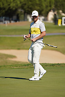 Lucas Bjerregaard (DEN) during Round 1 of the Portugal Masters, Dom Pedro Victoria Golf Course, Vilamoura, Vilamoura, Portugal, 24/10/2019<br /> Picture Andy Crook / Golffile.ie<br /> <br /> All photo usage must carry mandatory copyright credit (© Golffile | Andy Crook)