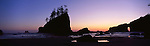 Sunset at Second Beach, Olympic National Park, Washington