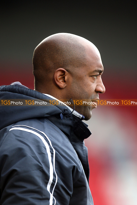 Dagenham and Redbridge assistant manager Wayne Burnett - Dagenham and Redbridge vs Burton Albion at the London Borough of Barking and Dagenham Stadium - 16/03/13 - MANDATORY CREDIT: Dave Simpson/TGSPHOTO - Self billing applies where appropriate - 0845 094 6026 - contact@tgsphoto.co.uk - NO UNPAID USE.