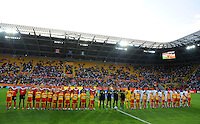 Opening ceremony during the FIFA Women's World Cup at the FIFA Stadium in Dresden, Germany on July 5th, 2011.