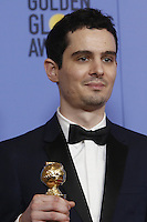 www.acepixs.com<br /> <br /> January 8 2017, LA<br /> <br /> Damien Chazelle appeared in the press room during the 74th Annual Golden Globe Awards at The Beverly Hilton Hotel on January 8, 2017 in Beverly Hills, California.<br /> <br /> By Line: Famous/ACE Pictures<br /> <br /> <br /> ACE Pictures Inc<br /> Tel: 6467670430<br /> Email: info@acepixs.com<br /> www.acepixs.com