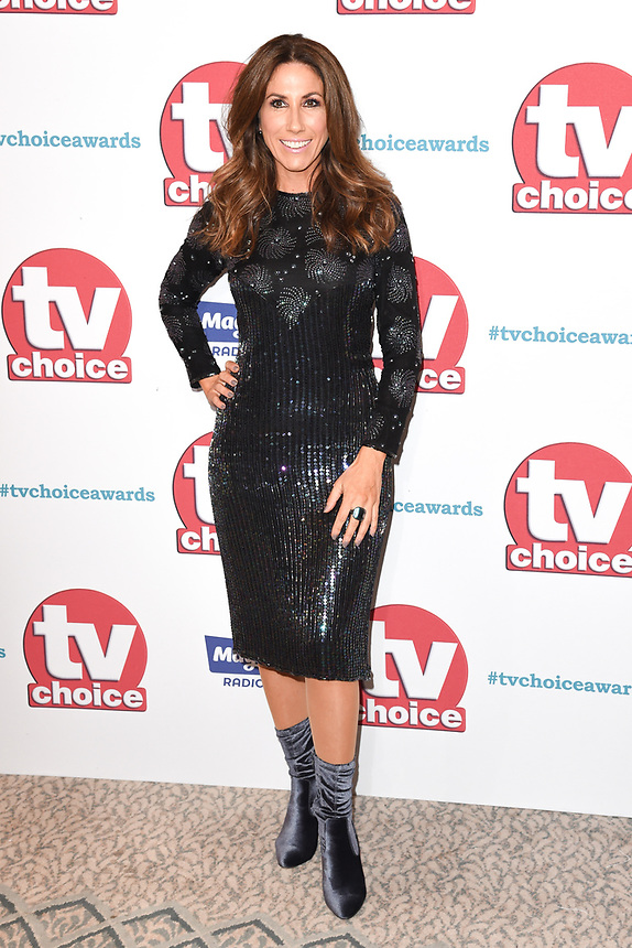 Gaynor Faye<br /> arriving for the TV Choice Awards 2017 at The Dorchester Hotel, London. <br /> <br /> <br /> ©Ash Knotek  D3303  04/09/2017