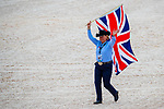 Opening Ceremony. Team GB. Flag Bearer.Francesca Sternberg. Day 1. World Equestrian Games. WEG 2018 Tryon. North Carolina. USA. 11/09/2018. ~ MANDATORY Credit Elli Birch/Sportinpictures - NO UNAUTHORISED USE - 07837 394578
