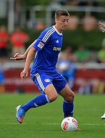 Fussball 1. Bundesliga:  Saison  Vorbereitung 2012/2013     Testspiel: Bayer 04 Leverkusen - FC Augsburg  25.07.2012 Jens Hegeler (Bayer 04 Leverkusen)