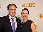 Jim Nance & Courtney Richards - CBS PrimeTime 2015-2016 Upfronts Lincoln Center, New York City, New York on May 13, 2015 (Photos by Sue Coflin/Max Photos)