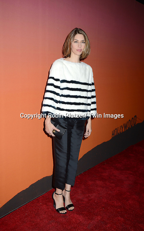 Sofia Coppola in Louis Vuitton attends the 2013 Whitney Gala & Studio party honoring artist Ed Ruscha on October 23, 2013 at Skylight at Moynihan Station in New York City.