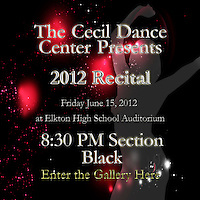 CDC Recital 8:30 PM Section