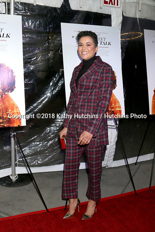 """LOS ANGELES - DEC 4:  Emily Rios at the """"If Beale Street Could Talk"""" Screening at the ArcLight Hollywood on December 4, 2018 in Los Angeles, CA"""