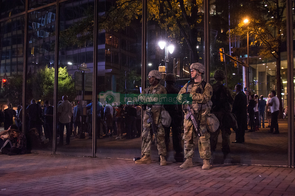 Protests Erupt After Deadly Police Shooting In Charlotte