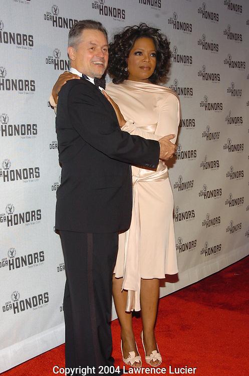 Jonathan Demme and Oprah Winfrey