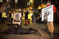 "02.02.2016 - ""Stop Arming Saudi: Protest At The Arms Dealers' Dinner"""