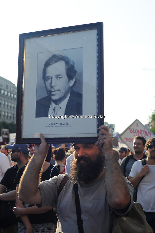 Million Man Anti-Babis March in Prague (CZE)