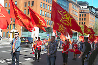 Mayday 2016 Trade Unions and Anti Imperialist Mayday March from Clerkenwell to Trafalgar Square