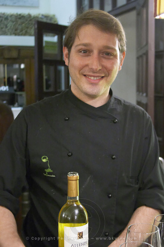 the restaurant bar owner Restaurant La Garrocha Valladolid spain castile and leon