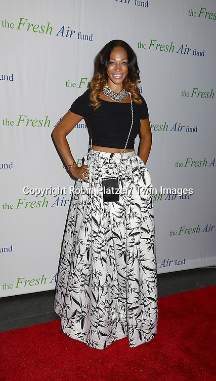 Alexis Stoudemire attends The Fresh Air Fund Salute to Mariah Carey on May 29, 2014 at Pier Sixty at Chelsea Piers in New York, New York, USA.