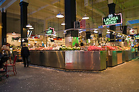 Grand Central, Public Market, Produce, Los Angeles CA, Farm-fresh produce fresh fruits, vegetables, meats, poultry and fresh fish from California and around the world