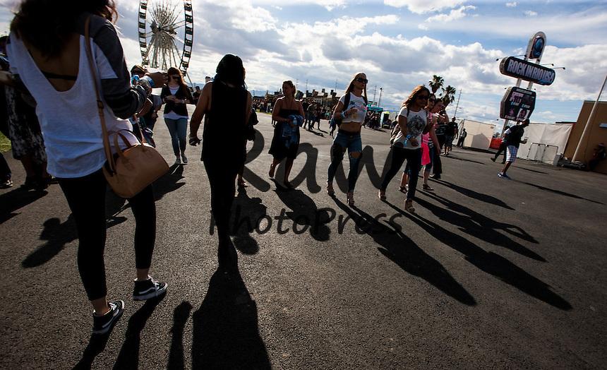 El festival Rock In Rio se ha celebrado este a&ntilde;o en Las Vegas.<br /> <br /> LAS VEGAS, NV - May 15: General atmosphere at Rock In Rio in Las Vegas, NV on May 15, 2015. Photo Credit: Chase Stevens / Retna Ltd.