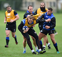Harry Davies of Bath Rugby in action. Bath Rugby pre-season training session on August 9, 2017 at Farleigh House in Bath, England. Photo by: Patrick Khachfe / Onside Images