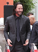 14 May 2019 - Hollywood, California - Keanu Reeves. Keanu Reeves Places His Hand Prints In Cement At TCL Chinese Theatre IMAX Forecourt. Photo Credit: PMA/AdMedia
