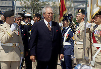Martial Asselin lieutenant-governor of Quebec on Canada Day 1996<br /> <br />  (b at La Malbaie, Quebec 3 Feb 1924). A lawyer, Asselin was admitted to the Qu&eacute;bec Bar in 1951 and practiced law in his home town and Charlevoix. Asselin was acclaimed mayor of La Malbaie in 1957. He was elected to the House of Commons in 1958 as a Tory. While an MP he continued as mayor of La Malbaie until 1963 when Prime Minister John DIEFENBAKER appointed him minister of forestry. Asselin was defeated in 1963 but returned to the House of Commons in 1965. He retained his seat in 1968 and was summoned to the Senate in 1972.<br /> <br /> Lacking Qu&eacute;bec representation in the House in 1979, PM Joe CLARK looked to the Senate for Qu&eacute;bec ministers and appointed Asselin minister of state for the Canadian International Development Agency and Francophonie. Asselin served as deputy Speaker of the Senate from 1984 to 1988. He resigned his seat in the Senate in 1990 when he was appointed lieutenant-governor of Qu&eacute;bec, serving in that role until 1996 He was replaced by Lise Thibault.<br /> <br /> photo (c)  Images Distribution