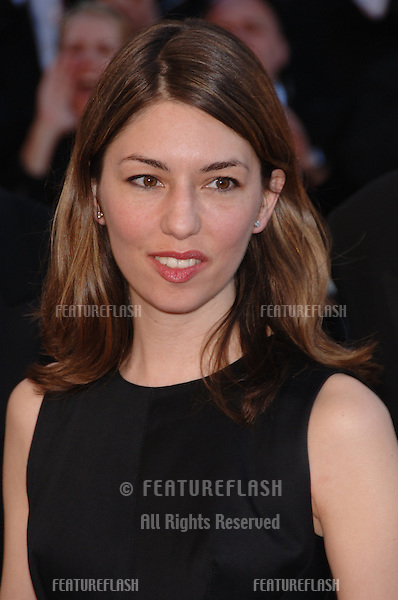 "Director SOFIA COPPOLA at gala screening for ""Volver"" at the 59th Annual International Film Festival de Cannes..May 17, 2006  Cannes, France..© 2006 Paul Smith / Featureflash"