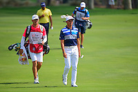 Rickie Fowler (USA) approaches the number 2 green during round 3 of the Honda Classic, PGA National, Palm Beach Gardens, West Palm Beach, Florida, USA. 2/25/2017.<br /> Picture: Golffile | Ken Murray<br /> <br /> <br /> All photo usage must carry mandatory copyright credit (&copy; Golffile | Ken Murray)
