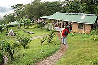 Main building at Finca Esperanza Verde, Nicaragua