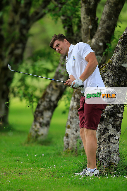 Barry Fitzpatrick (Castle) during the final round of the 2015 Irish Boys Amateur Open Championship, Tuam Golf Club, Tuam, Co Galway. 26/06/2015<br /> Picture: Golffile | Fran Caffrey