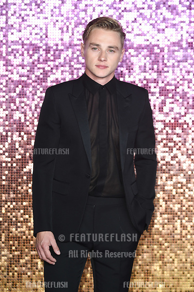 """LONDON, UK. October 23, 2018: Ben Hardy at the world premiere of """"Bohemian Rhapsody"""" at Wembley Arena, London.<br /> Picture: Steve Vas/Featureflash"""