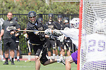 Orange, CA 05/16/15 - Grant McCannon (Colorado #17) in action during the 2015 MCLA Division I Championship game between Colorado and Grand Canyon, at Chapman University in Orange, California.