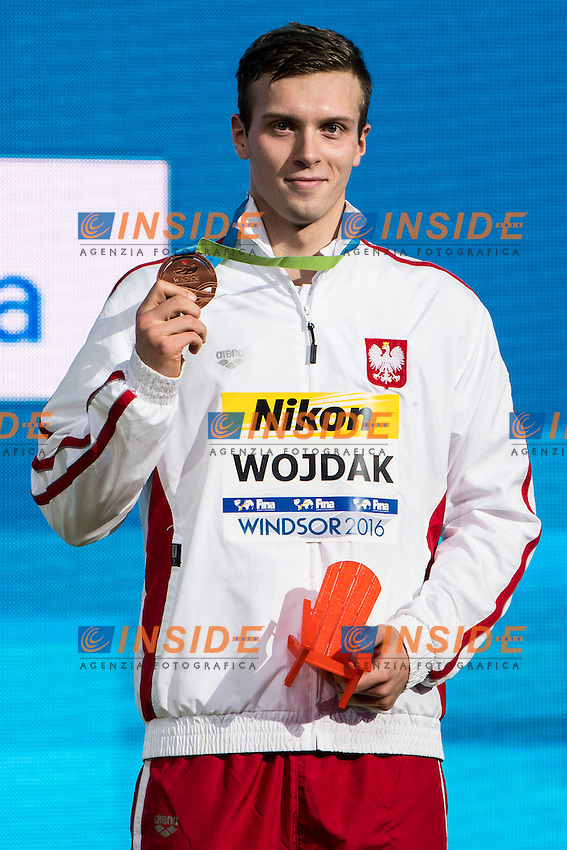 WOJDAK Wojciech POL Bronze Medal<br /> Men's 1500m Freestyle<br /> 13th Fina World Swimming Championships 25m <br /> Windsor  Dec. 11th, 2016 - Day06 Finals<br /> WFCU Centre - Windsor Ontario Canada CAN <br /> 20161211 WFCU Centre - Windsor Ontario Canada CAN <br /> Photo &copy; Giorgio Scala/Deepbluemedia/Insidefoto