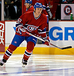 3 February 2007: Montreal Canadiens left wing forward Garth Murray (57) warms up prior to facing the New York Islanders at the Bell Centre in Montreal, Canada. The Islanders defeated the Canadiens 4-2.