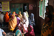 Women patients wait for their turn at the general OPD of the Duncan Hospital in Raxaul, Bihar, India.