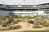 January 31st 2019, Scotsdale, Arizona, USA; The 16th hole during the first round of the Waste Management Phoenix Open