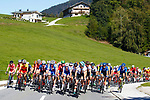 Action from the Men Junior Road Race of the 2018 UCI Road World Championships running 132.4km from Wattens to Innsbruck, Innsbruck-Tirol, Austria 2018. 27th September 2018.<br /> Picture: Innsbruck-Tirol 2018/BettiniPhoto | Cyclefile<br /> <br /> <br /> All photos usage must carry mandatory copyright credit (© Cyclefile | Innsbruck-Tirol 2018/BettiniPhoto)