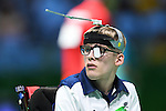 Patrick Wilson (GBR), <br /> SEPTEMBER 14, 2016 - Boccia : <br /> Individual BC3 match between Patrick Wilson 5-3 Kazuki Takahashi<br /> at Carioca Arena 2<br /> during the Rio 2016 Paralympic Games in Rio de Janeiro, Brazil.<br /> (Photo by AFLO SPORT)