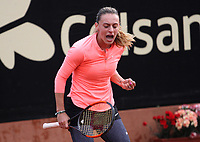 BOGOTÁ -COLOMBIA, 11-04-2018:Ana Bogdan de Rumania venció a la colombiana Mara Duque  ,durante el Claro Open Colsánitas WTA  international event que se juega en El Club Los Lagartos al norte de la Capital ./ Ana Bogdan (ROU) won to Mariana Duque (Col), during the Claro Open Colsánitas WTA international event that is played at El Club Los Lagartos north of the Capital. Photo: VizzorImage/ Felipe Caicedo / Staff