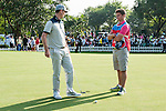 Caddies -  2014 - The Match at Mission Hills - Poulter vs Rose