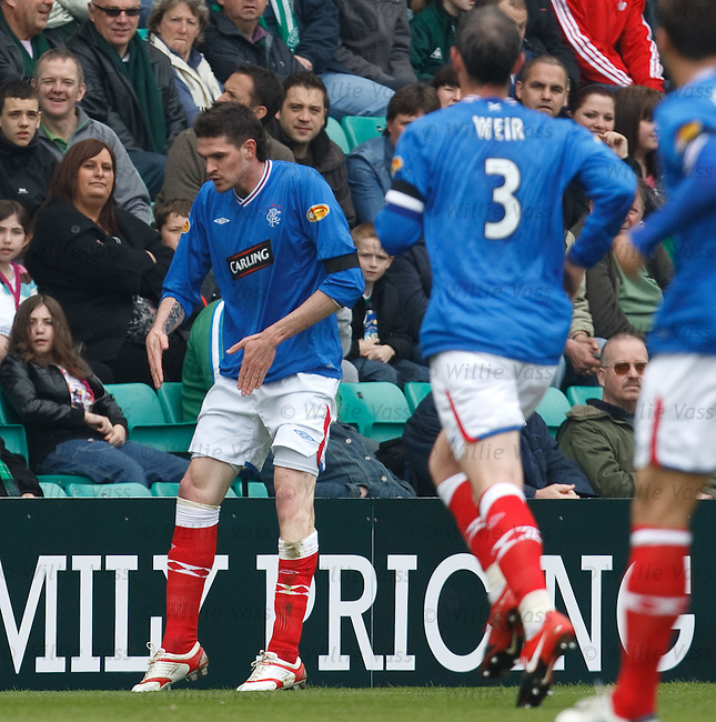 Kyle Lafferty does his Robot dance to celebrate scoring
