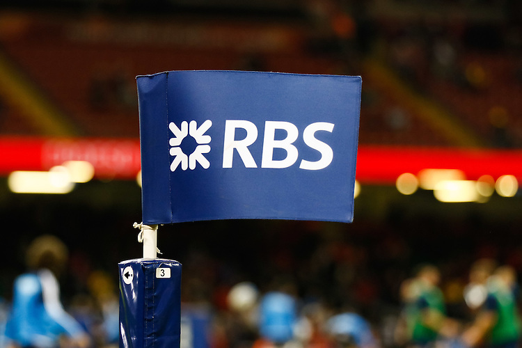 A general view of Millennium Stadium, Cardiff, home of Wales RBS Flag<br /> <br /> Photographer Simon King/CameraSport<br /> <br /> International Rugby Union - RBS 6 Nations Championships 2016 - Wales v Italy - Saturday 19th March 2016 - Principality Stadium, Cardiff <br /> <br /> &copy; CameraSport - 43 Linden Ave. Countesthorpe. Leicester. England. LE8 5PG - Tel: +44 (0) 116 277 4147 - admin@camerasport.com - www.camerasport.com