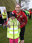 Eimear Murtagh and her mam Kelly-ann  who ran with Stephen Geraghty on the last leg of  his challenge to run six Kilometers every day in 2016. Photo:Colin Bell/pressphotos.ie