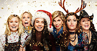 A Bad Moms Christmas (2017) <br /> Promotional art with Mila Kunis, Kristen Bell, Kathryn Hahn, Susan Sarandon, Christine Baranski &amp; Cheryl Hines<br /> *Filmstill - Editorial Use Only*<br /> CAP/KFS<br /> Image supplied by Capital Pictures