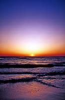 Sunrise over ocean, Cape Cod, MA.