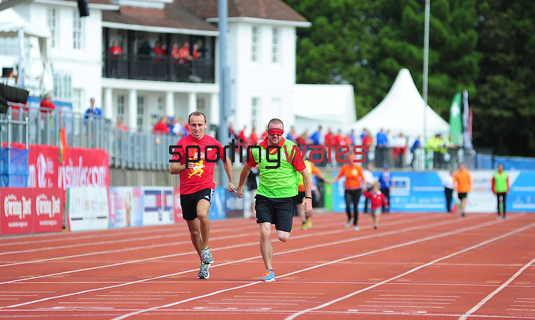 IPC European Athletics Championship 2014<br /> Swansea University<br /> <br /> Media race<br /> <br /> 23.08.14<br /> Chris Vaughan-SPORTINGWALES