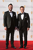 London, UK. 8 May 2016. Ant & Dec, Anthony McPartlin and Declan Donnelly. Red carpet  celebrity arrivals for the House Of Fraser British Academy Television Awards at the Royal Festival Hall.