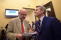 Roma, 15 Luglio 2015<br /> Daniele Farina e Benedetto Della Vedova.<br /> Presentata una proposta di legge firmata da 218 parlamentari di vari gruppi politici per la legalizzazione delle droghe leggere in Italia